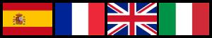 Langues parlées : Anglais, Français, Espagnol & Italien